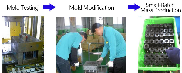 injection molding processing
